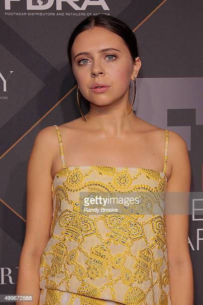 The Icon Award for Social Impact Presenter Bel Powley attends the 29th FN Achievement Awards at IAC Headquarters on December 2 2015 in New York City