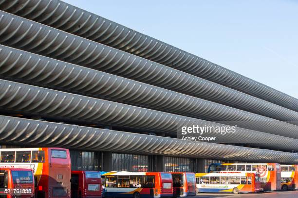 The iconic 1960's concrete Preston Bus Station that is threatened to be demolished