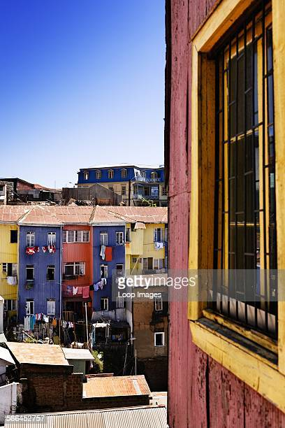 The iconic colourful architecture of Valparaiso