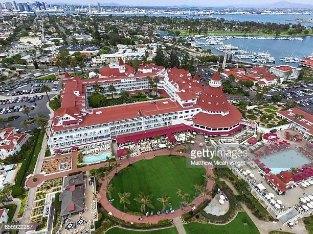 The iconic Hotel de Coronado in San Diego.