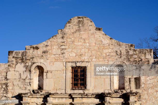 The iconic 'hump' on the facade of Mission San Antonio de Valero better known as The Alamo was added by US soldiers in the 1850s The former...