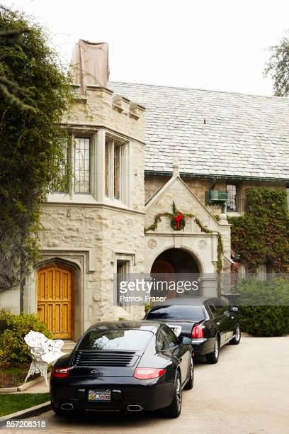 The iconic Playboy Mansion photographed for Sunday Times on February 20 2011 in Los Angeles California