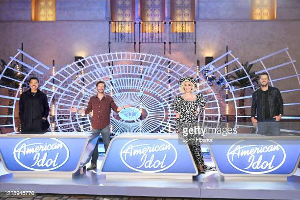"""The iconic star-maker competition series """"American Idol"""" welcomes back music industry legends, judges Luke Bryan, Katy Perry and Lionel Richie, and..."""