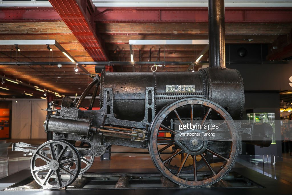 Stephenson's Rocket Returns To Manchester