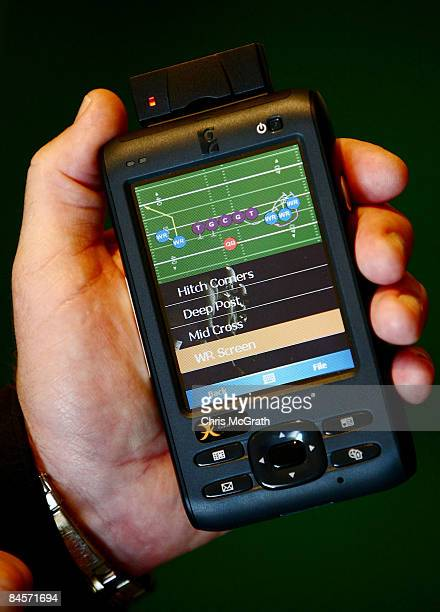 The ID Coach Personal Remote Terminal is shown at the launch of the Isaac Daniel, ID Coach at the Sheraton Riverwalk on January 31, 2009 in Tampa,...