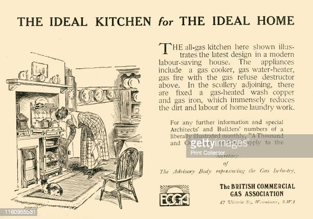 'The Ideal Kitchen for the Ideal Home The British Commercial Gas Association' 1920 The Roaring Twenties were a period of economic prosperity when...