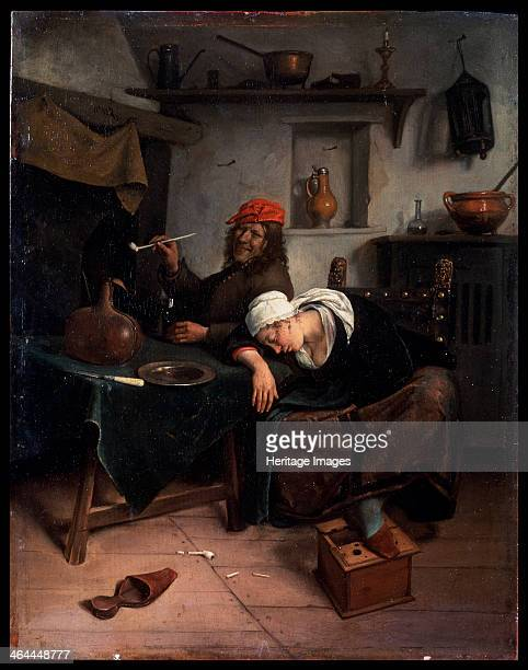 'The Idlers' c1660 Found in the collection of the State Hermitage St Petersburg