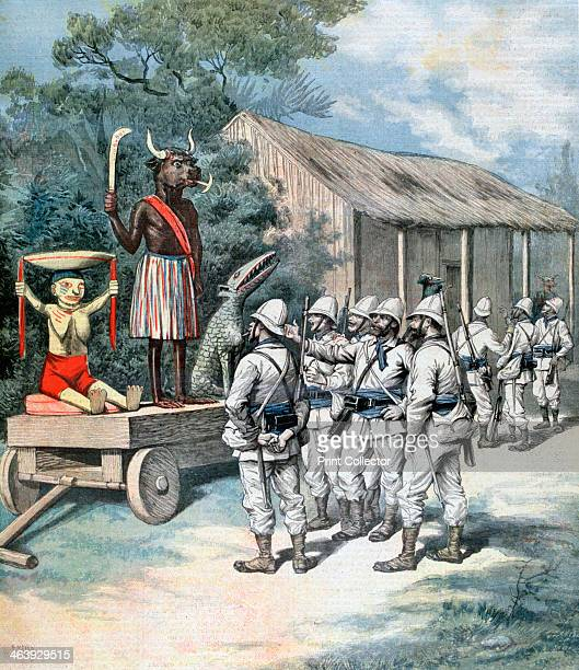 The idol of war Kana Dahomey Africa 1892 Between 1892 and 1894 Dahomey was conquered by French troops from Senegal and incorporated into France's...