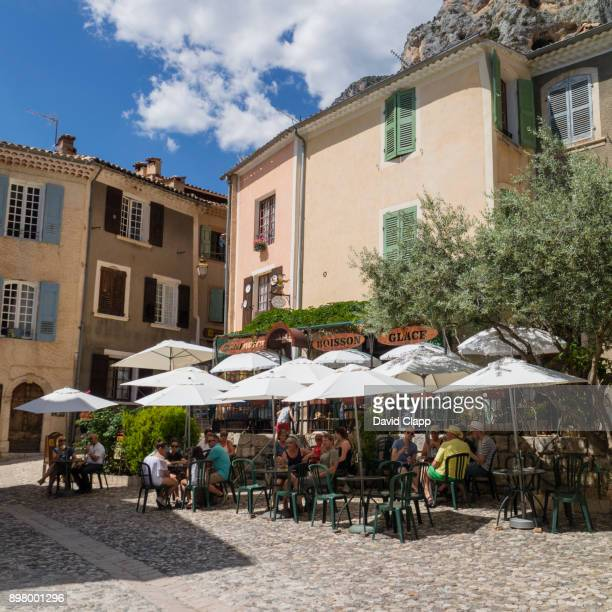 The idyllic town of Moustiers-Sainte-Marie in Provence, France