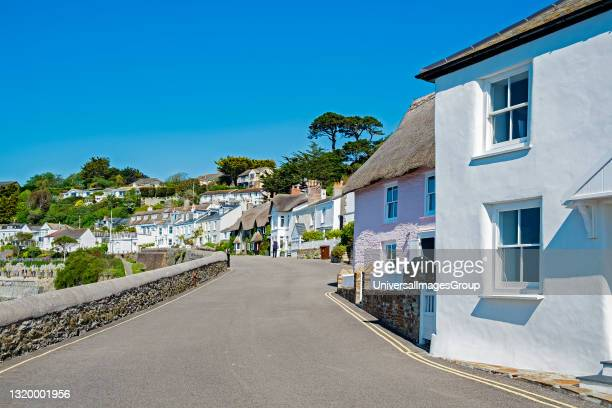 The idyllic village of st mawes on the roseland peninsular in cornwall.