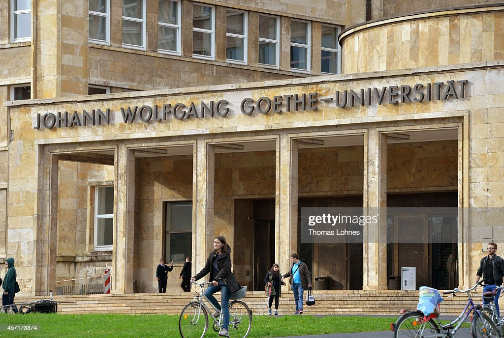 The 'IG Farben House' pictured at the 'Campus Westend' of the Johann Wolfang Goethe-University on October 13, 2014 in Frankfurt am Main, Germany. The Johann Wolfgang Goethe-University celebrates its 100th anniversary with a ceremony on 18 October.