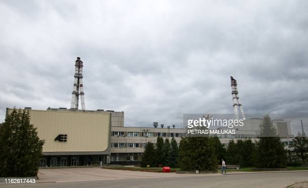 The Ignalina nuclear power plant is pictured in Visaginas Lithuania on July 31 2019 Fans of HBO's hit series Chernobyl detailing the world's worst...