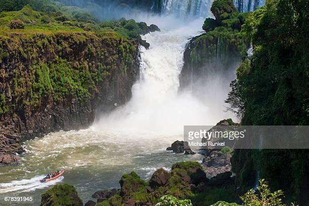The Iguazu waterfalls, Iguazu National Park, UNESCO World Heritage Site, Argentina, South America