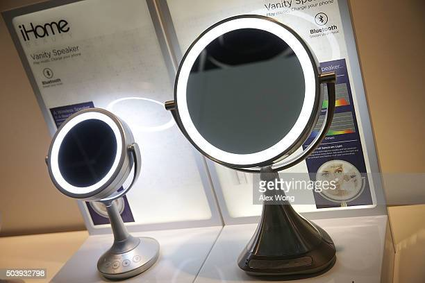 The iHome iCVBT5 6' Doublesided Vanity Mirrors and the iCVBT7 9' Doublesided Vanity Mirrors which features full color lighting Bluetooth...