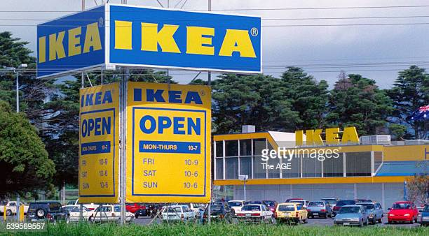 The Ikea store at Nepean hwy Moorabbin 20 September 1996 THE AGE Picture by ANDREW DE LA RUE