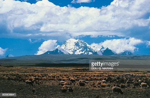 The IllampuAnchohuma Massif Cordillera Real Bolivia