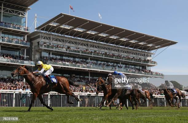 The Illies ridden by William Buick wins the Addleshaw Goddard Stakes held at York Racecourse on August 23 2007 in York England