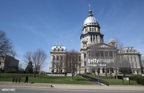 The Illinois State Capitol on March 9 in Springfield Ill On Wednesday May 30 the state House voted to ratify the Equal Rights Amendment more than 45...