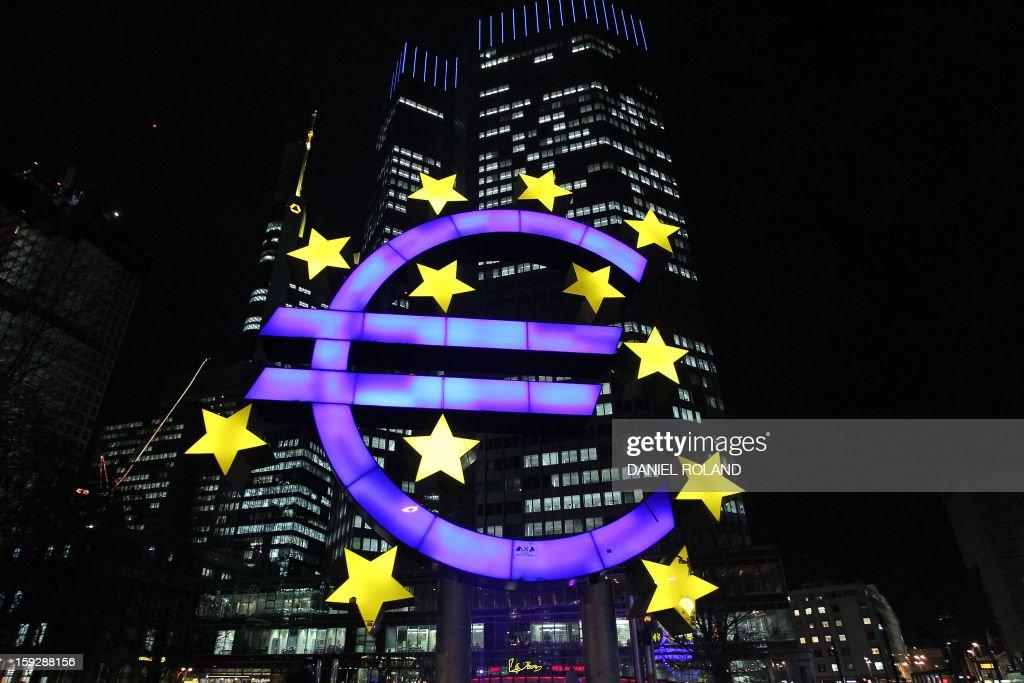 GERMANY-FINANCE-ECB : News Photo