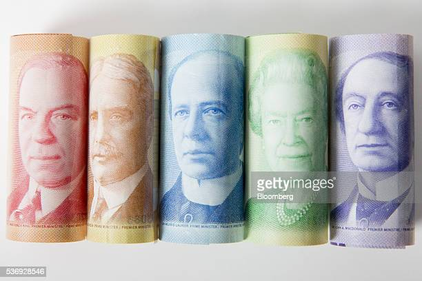The images of William Lyon Mackenzie King former prime minister of Canada from left Sir Robert Borden former prime minister of Canada Sir Wilfrid...