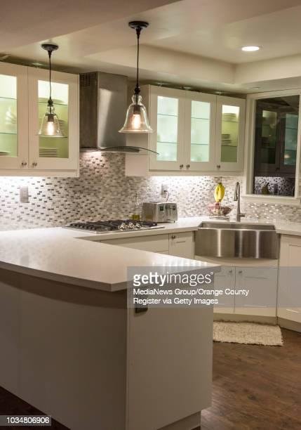 The Imboden family's newly remodeled kitchen in their Orange home INFORMATION RealCenterpiece1110 Ð 11/4/13 Ð LEONARD ORTIZ ORANGE COUNTY REGISTER...