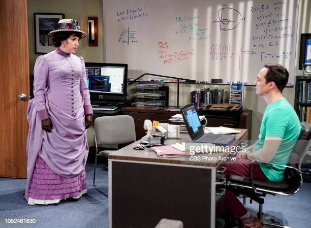 'The Imitation Perturbation' Pictured Amy Farrah Fowler and Sheldon Cooper When Wolowitz dresses up as Sheldon for Halloween Sheldon seeks...