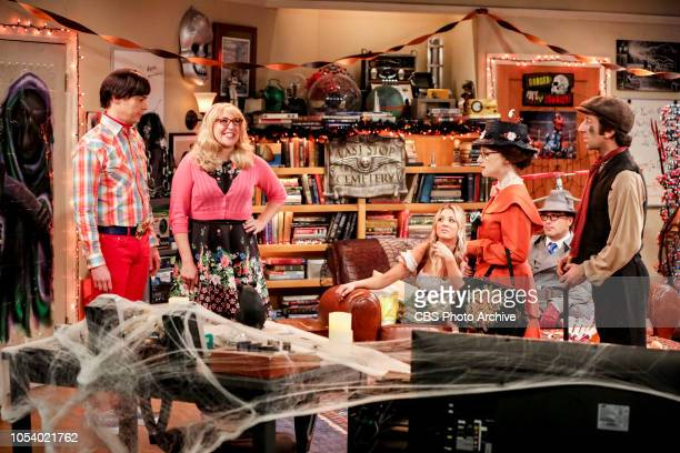 'The Imitation Perturbation' Pictured Sheldon Cooper Amy Farrah Fowler Penny Bernadette Leonard Hofstadter and Howard Wolowitz When Wolowitz dresses...