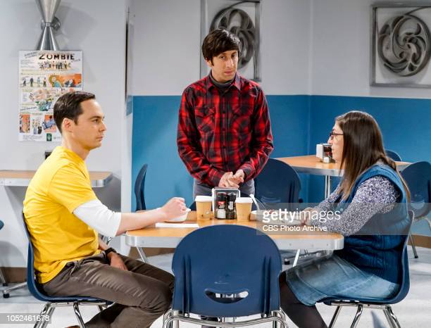 'The Imitation Perturbation' Pictured Sheldon Cooper Howard Wolowitz and Amy Farrah Fowler When Wolowitz dresses up as Sheldon for Halloween Sheldon...