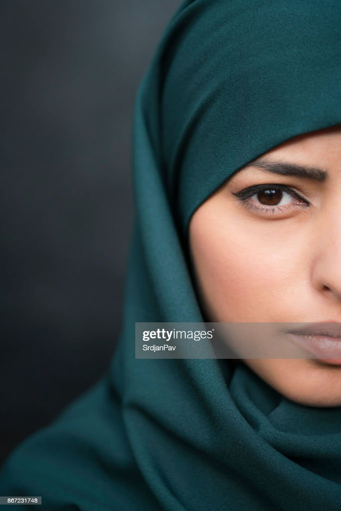 The Immigrant Woman : Stock Photo