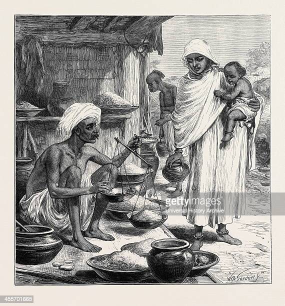 A Bengalee Beniah Or Grain Seller 1874