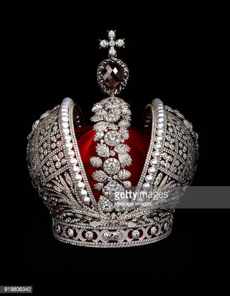 The Imperial Crown of Catherine II the Great Found in the collection of State Hermitage St Petersburg