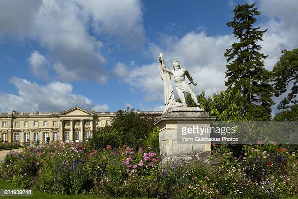 the imperial palace of compiegne, oise,picardy, france - oise stock photos and pictures