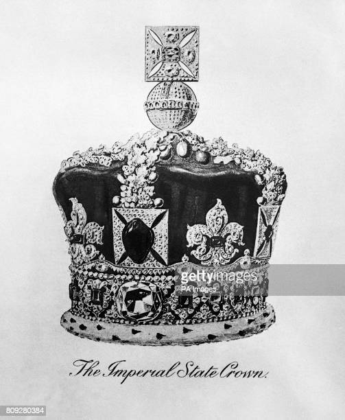 The Imperial State crown of the United Kingdom