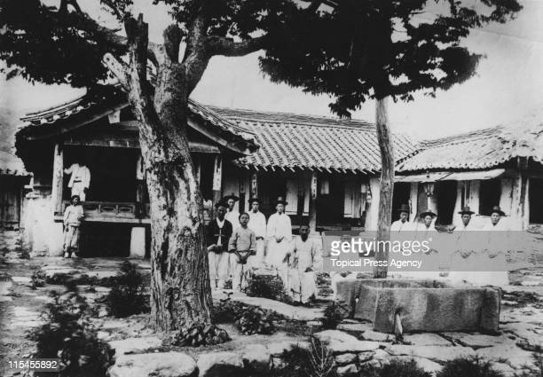 The Imperial Telegraph Office in Korea August 1910