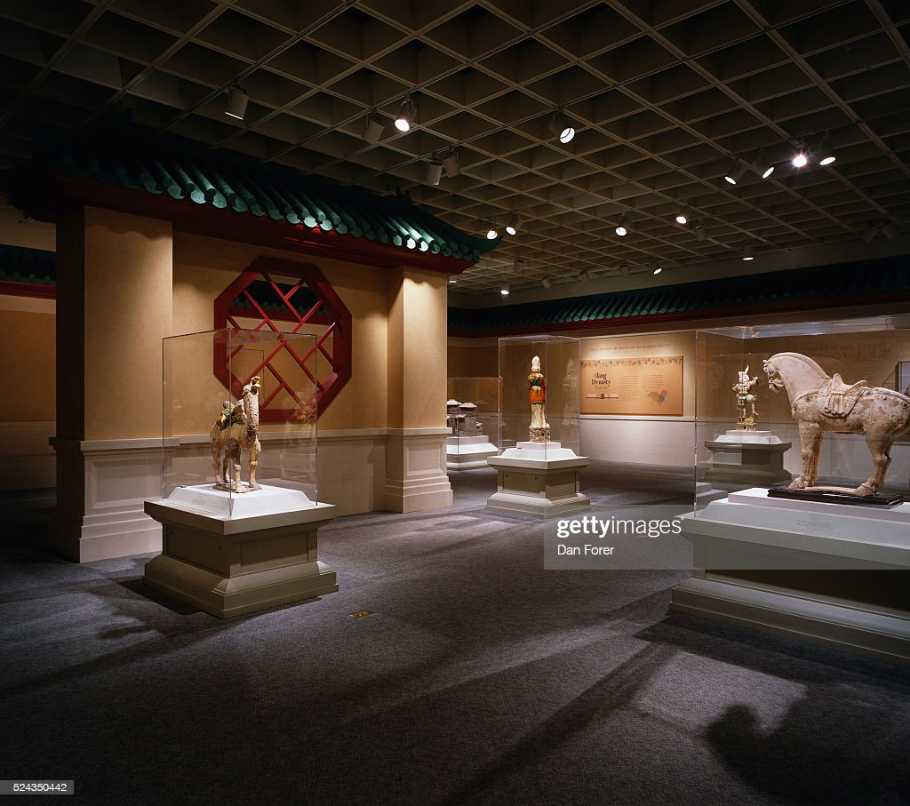 The Imperial Tombs of China exhibit at the Orlando Museum of