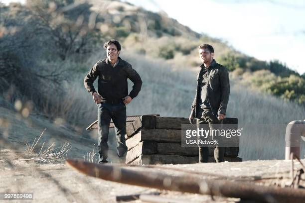 SHOOTER 'The Importance of Service' Episode 304 Pictured Jesse Bradford as Harris Downey Ryan Phillippe as Bob Lee Swagger