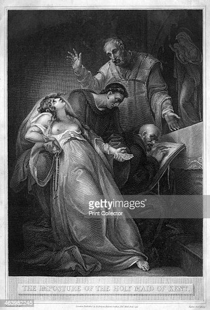 'The Imposture of the Holy Maid of Kent' 16th century Elizabeth Barton known as The Nun of Kent The Holy Maid of London The Holy Maid of Kent and...