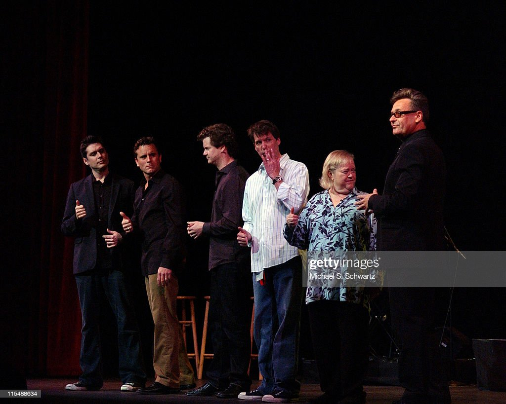 The Improv All Stars during 'weSparkle, Take VI Comedy Tonight' Honoring Jonathan Winters at The Alex Theatre in Glendale, California, United States.