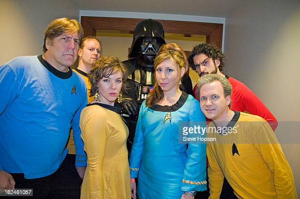 The improv group, Start Trekkin' with Darth Vader at the Star Trek Private Premiere Party Hosted by the Bob Bullock Texas State History Museum and...