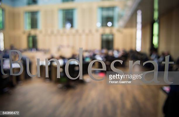 The in front of the meeting of the Bundesrat on June 17 2016 in Berlin