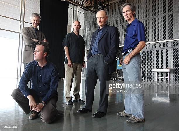 The inaugural Diston Contemporary Music festival will be taking place at the ICA . Participants, from left to right: Richard Pittman, Gil Rose, Scott...