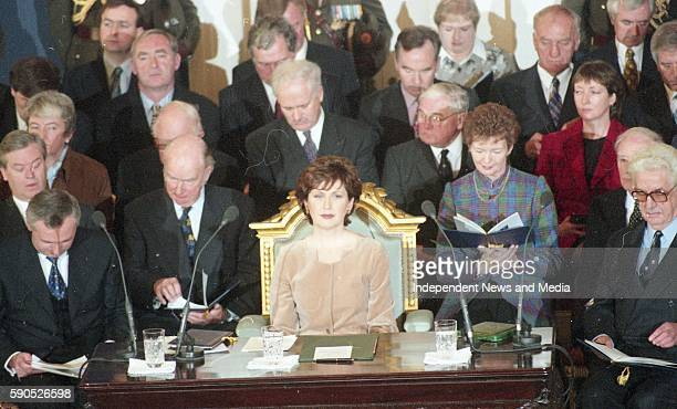 The Inauguration of Mary Mc Aleese as the 8th President of Ireland