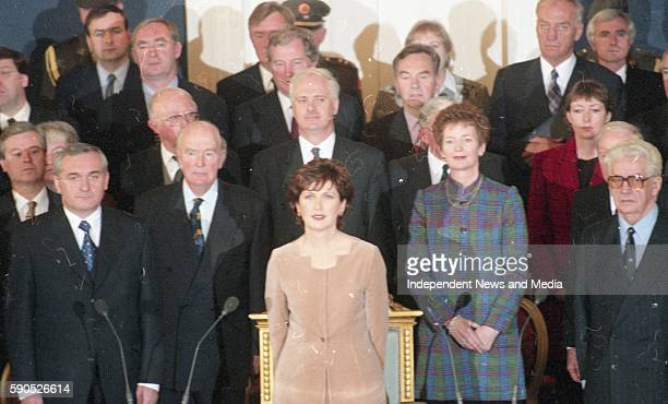 The Inauguration of Mary Mc Aleese as the 8th President of Ireland, .