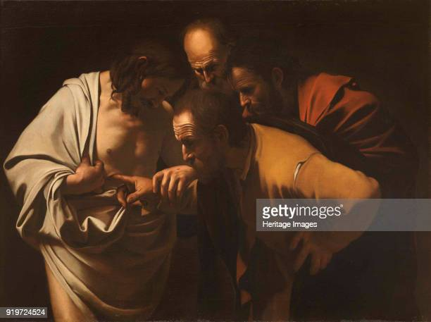 The Incredulity of Saint Thomas 16001601 Found in the Collection of Sanssouci Potsdam