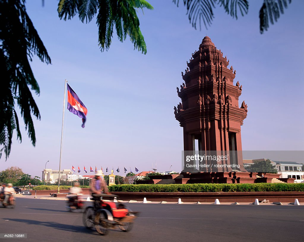 The Independence Monument, Phnom Penh, Cambodia, Indochina, Southeast Asia, Asia : Stock Photo