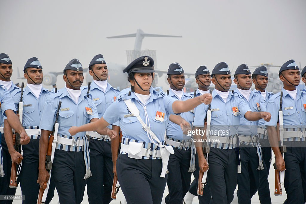 Full Dress Rehearsal For 84th Air Force Day At Hindon Airbase