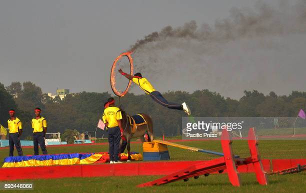 The Indian army exhibits their skills during the 'Vijay Diwas' celebration The Indian army celebrates its 46th anniversary of Vijay Diwas which mark...