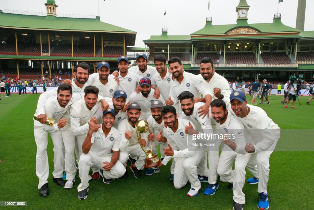 Australia v India - 4th Test: Day 5 : Fotografia de notícias