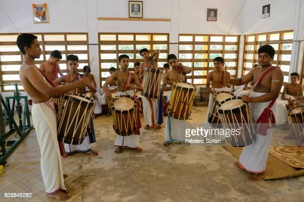 The Indian DanceDrama Kathakali Kerala Kalamandalam Deemed University of Art and Culture is a major centre for learning Indian performing arts...