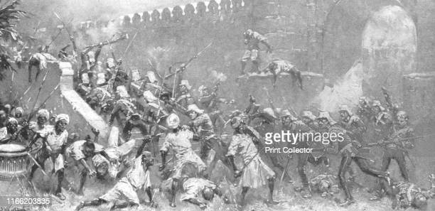The Storming of the Cashmir Gate Delhi September 14 1857' Episode during the British colonial period The capture of the city of Delhi from the...
